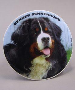 Klistermærke med Berner hoved